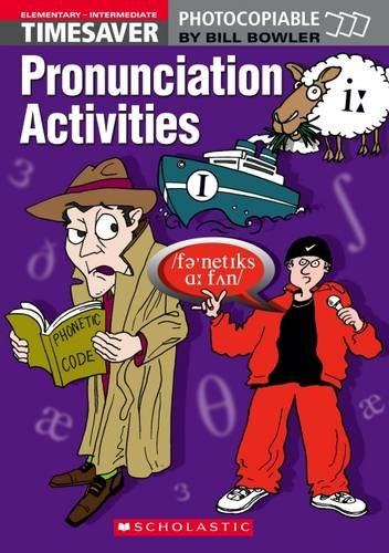 Timesaver Pronunciation Activities : (Elementary-Intermediate) (2Cassette audio)