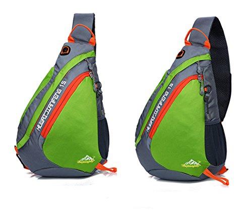 b609e6ebbb Sling spalla zaini borse bag Pack, petto spalla Crossbody zaino da  escursionismo sport bicicletta zaino