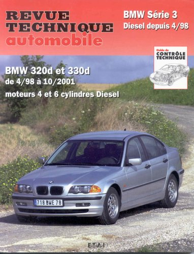 Revue technique automobile BMW serie 3 diesel de 04/1998 a 10/2001