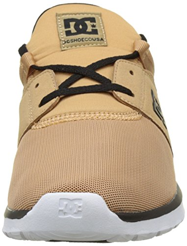 DC Shoes Heathrow, Baskets Basses Homme Marron (Camel)