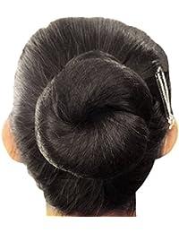 Montón de pelo Nets Invisible borde elástico de malla 50cm para evitar pelo Falling black 10pcs