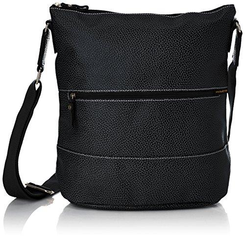 Paquetage - Ap, Borsa a tracolla da donna, nero (noir 001), Taille Unique