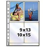 Hama Photohüllen A4, weiß, 10 x 15 cm...Vergleich