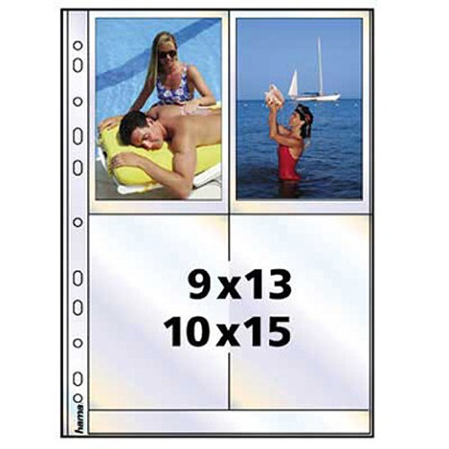 fotohuellen 10x15 Hama Photohüllen A4, weiß, 10 x 15 cm