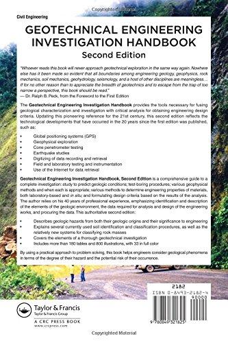 Geotechnical Engineering Investigation Handbook, Second Edition
