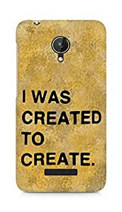 AMEZ i was created to create Back Cover For Micromax Canvas Spark Q380