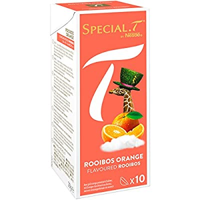 SPECIAL.T by Nestlé Rooibos Orange Boîte 10 Capsules 28 g - Lot de 6