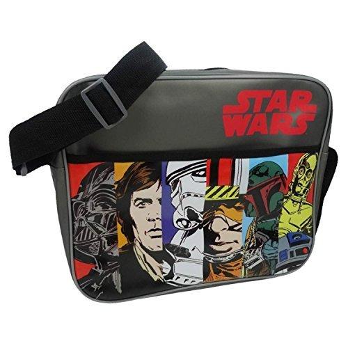Star Wars Tmstar001013 Officiel Vintage Bandoulière Sac à bandoulière
