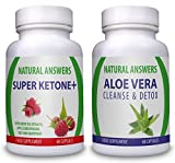 Super Ketone Plus  and Aloe Vera  1-month Supply Weight Management Supplement for Men and Women by Natural Answers