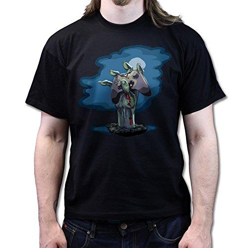Zombie Gamer Player Black Ops Walking Dead T-shirt (Black Ops Zombies-shirt)