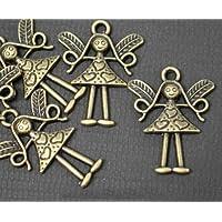 5 x, finitura in bronzo anticato