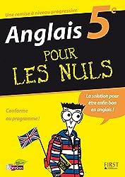 ANGLAIS 5E POUR LES NULS