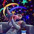 Projektor Lampe, Omitium LED Sternenhimmel Projektor Nachtlicht 360¡ãDrehbare Kinder Lampe, Einschlafhilfe mit Farbspiel, Perfekt f¨¹r Kinderzimmer, Schlafzimmer, Geburtstag, Parteien, Weihnachten