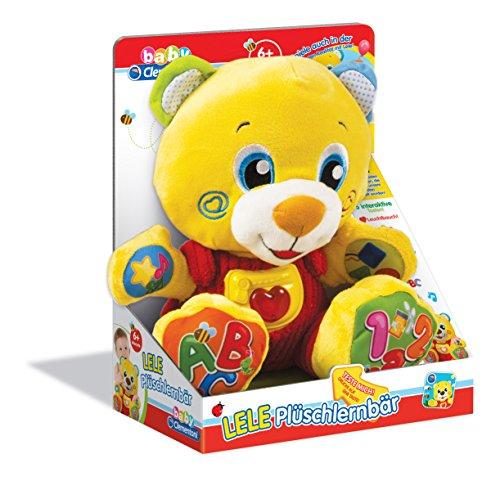 Clementoni-69499,0-Peluche a forma di orso Lele in apprendimento