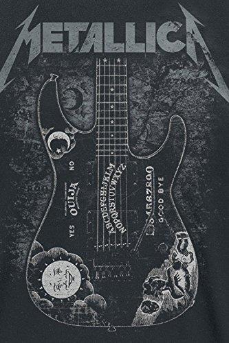 Metallica Hammett Ouija Guitar T-Shirt schwarz Schwarz