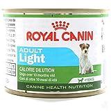 Royal canin comida húmeda light en lata para perros adultos de raza pequeña