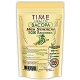 Bacopa Monnieri (Hysope d'eau) Très Puissant 50% bacosides (120 Capsules Poche)