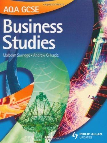 AQA GCSE Business Studies: Textbook by Surridge, Malcolm, Gillespie, Andrew (2009) Paperback