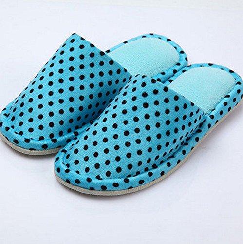 Automne et Hiver Pantoufles Femme Coton et lin lin Pantoufles Indoor Wood Flooring Pantoufles en tissu doux épais de base anti-dérapant ( couleur : # 1 , taille : 41-42 ) # 1