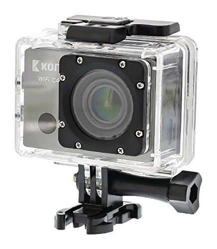 Eurosell Full HD Actionkamera - Sport Action Cam WLAN GPS Fernbedienung - Unterwasser Gehäuse - 1080p Fahrradhalterung Helmhalterung + Android + iOs App für Smartphone / iphone