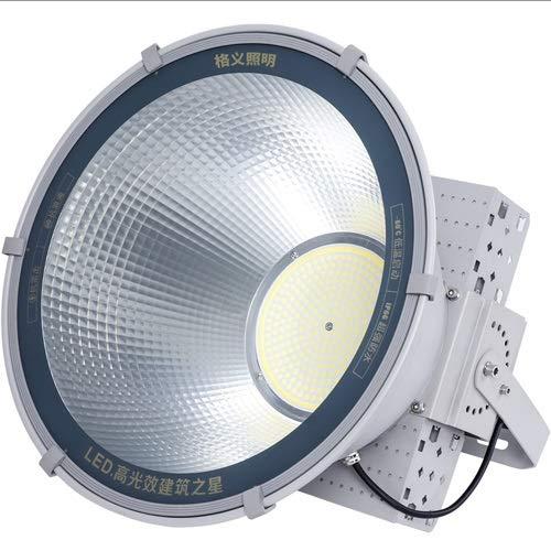 AKLKR LED-Turm Kronleuchter Flutlicht Außenbeleuchtung Veranstaltungsort Superheller Scheinwerfer Wasserdichter Außenscheinwerfer Suchscheinwerfer mit drei Chips in einem Quadrat Stadionbeleuchtung Su -