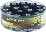 30 Tennis Griffbänder Revoltec schwarz
