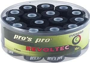 30 Overgrip Revoltec Tape tennis grips noir