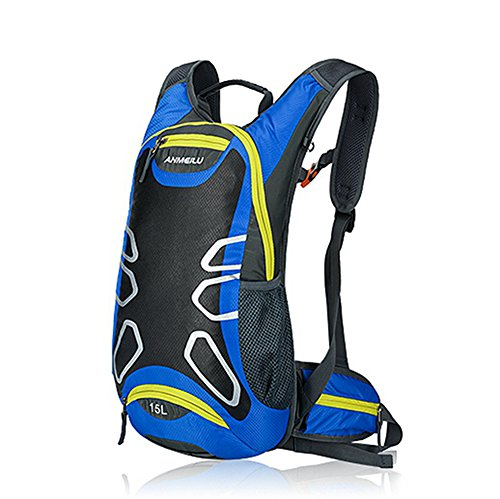 Größe Plus Billig Schuhe (15L Wasserdicht fahrradrucksack - Anti-crack Breath antiskid hiking camping Mountaineering Outdoor Cycling shoulder backpack,)