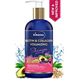 StBotanica Biotin & Collagen Volumizing Hair Shampoo - 300ml - No Sulphate, No Parabens, No Silicon (New & Improved)