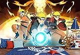 3D Naruto Chambre De Garçon 5 Japan Anime Fond d'écran Mur Peintures Murales Amovible Murale | Auto-adhésif Papier Peint FR Summer (Papier tissé (besoin de colle), 【 82'x58'】208x146cm(WxH))
