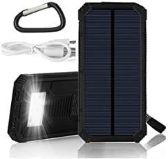 IFITech Solar Power Bank (Black)