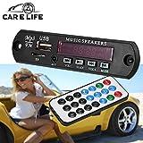 valoxin (TM) Auto Decoder Board MP3-Player Verstärker Panel LED 12V Audio Modul Unterstützung FM Radio USB TF AUX FERNBEDIENUNG kein Bluetooth