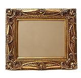 Starline Barock Bilderrahmen Gold 60x70/ 40x50 cm (Antik) Im Retro Vintage Look durch Handarbeit hergestellt für Künstler, Maler. Idealer Gemälderahmen für Ausstellungen Star-LINE®