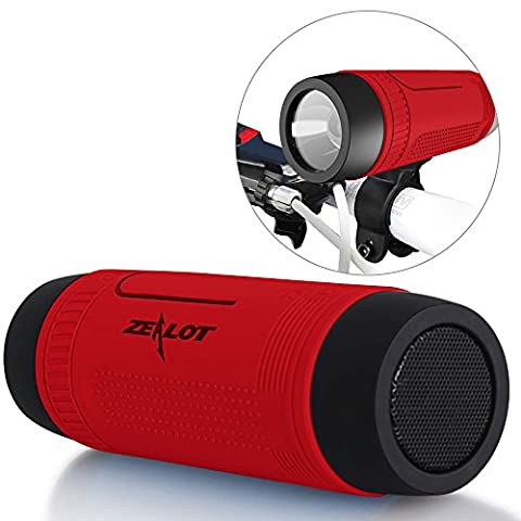 Enceinte Velo - Enceintes Bluetooth ZEALOT S1 Haut-parleurs Sans Fil