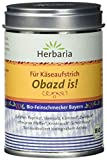 """Herbaria""""Obazd is!"""" Gewürzmischung für Obazda, 1er Pack (1 x 90 g Dose) - Bio"""