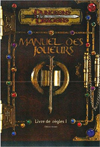 Donjons & Dragons - Manuel des joueurs - Livre des rgles 1 - V3.0