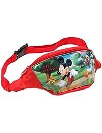 Disney Mickey Mouse - niños bolsillo 4362 - rojo
