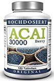ACAI Beere 30000 - Ultra-Hochdosiert - Brasilianischer Acai Berry Extrakt