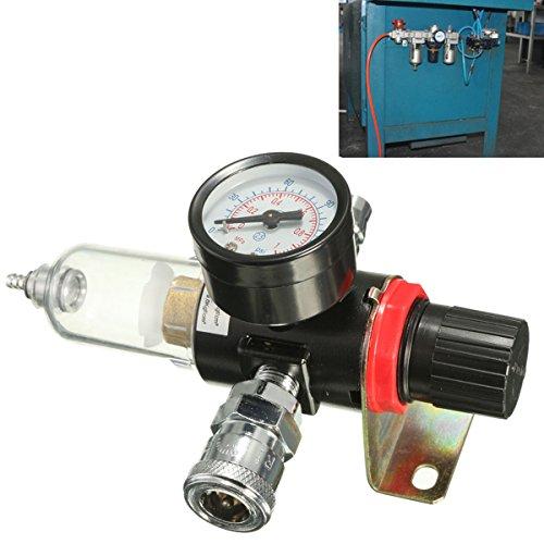 Regulator Gauge AFR-2000 1/4 Zoll Luftkompressor Filter Wasserabscheider Falle Werkzeug Kit -