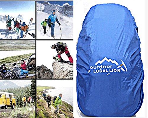 Cuckoo 45 Liters Unisex Hochleistungs-Outdoor-Klettern Camping Trekking Travel Rucksack Große Wander-Daypacks Wasserdichter Rucksack Hellblau