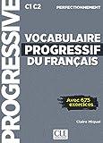 Vocabulaire progressif du français - Niveau perfectionnement - Livre + CD + Livre-web - Nouvelle couverture