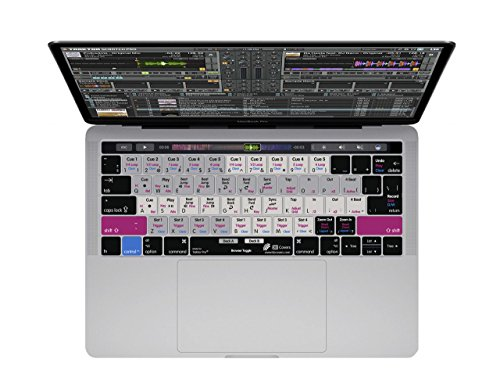 Copertura della tastiera Traktor Pro 2 perMacBook Pro con Touch Bar (Late 2016)