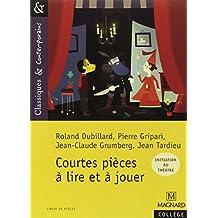 Courtes Pieces a Lire Et a Jouer