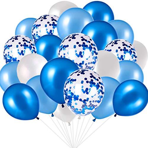 Pixnor 12 pollici Pack di palloncini in lattice di colore trasparente 25