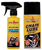 #3: KANGAROO MOTORBIKE SPRAY 200ML + CHAIN LUBRICANT SPRAY  150ML