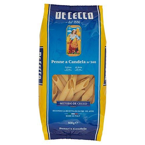 De Cecco Penne a Candela, Pasta di Semola di Grano Duro - 500 gr
