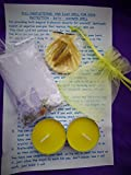 Complete Spell Kit ~ PROTECTION From Anyone Wishing you Harm Seen Or Unseen ~ Potent Yet Simple Bath or Shower Ritual Hand Crafted By Celtic Witch