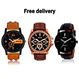 #2: Watches For Boys / Watches For Mens / Watch For Boy / Watch For Men stylish / Watch For Kids Boys Analogue Black Dial Offers