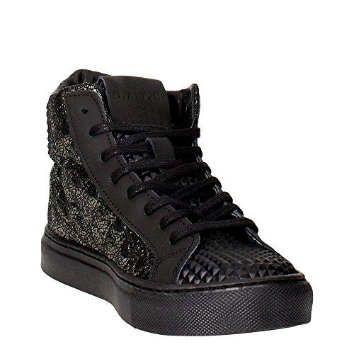 Date Newman Haut Sneakers Nero
