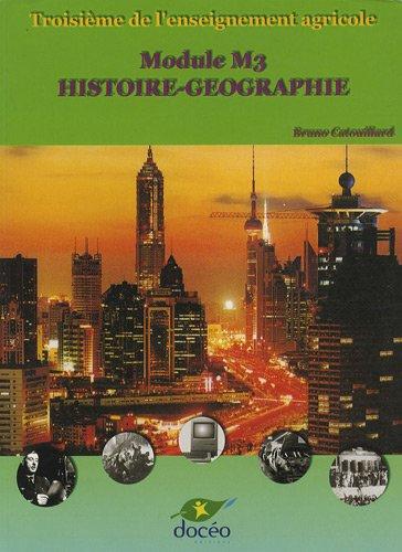 Histoire-Géographie 3e agricole